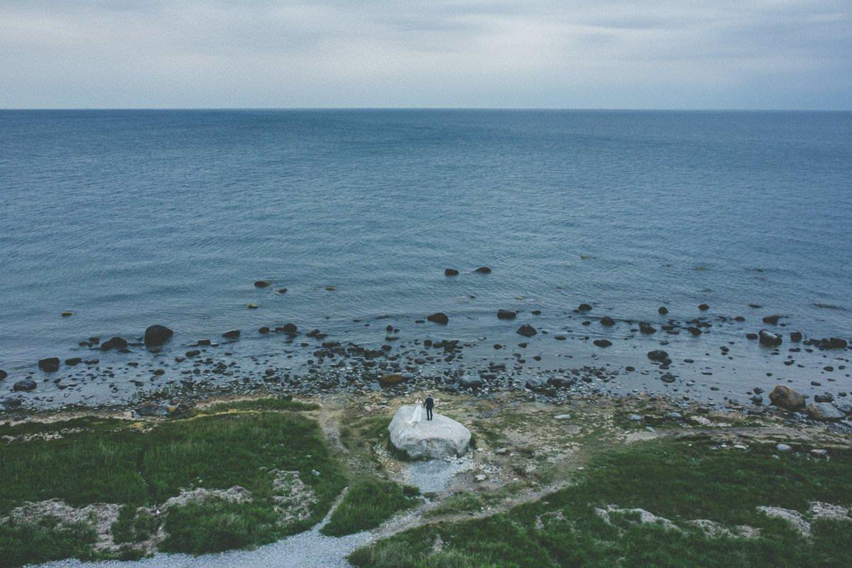 plener ślubny na wyspie rugia