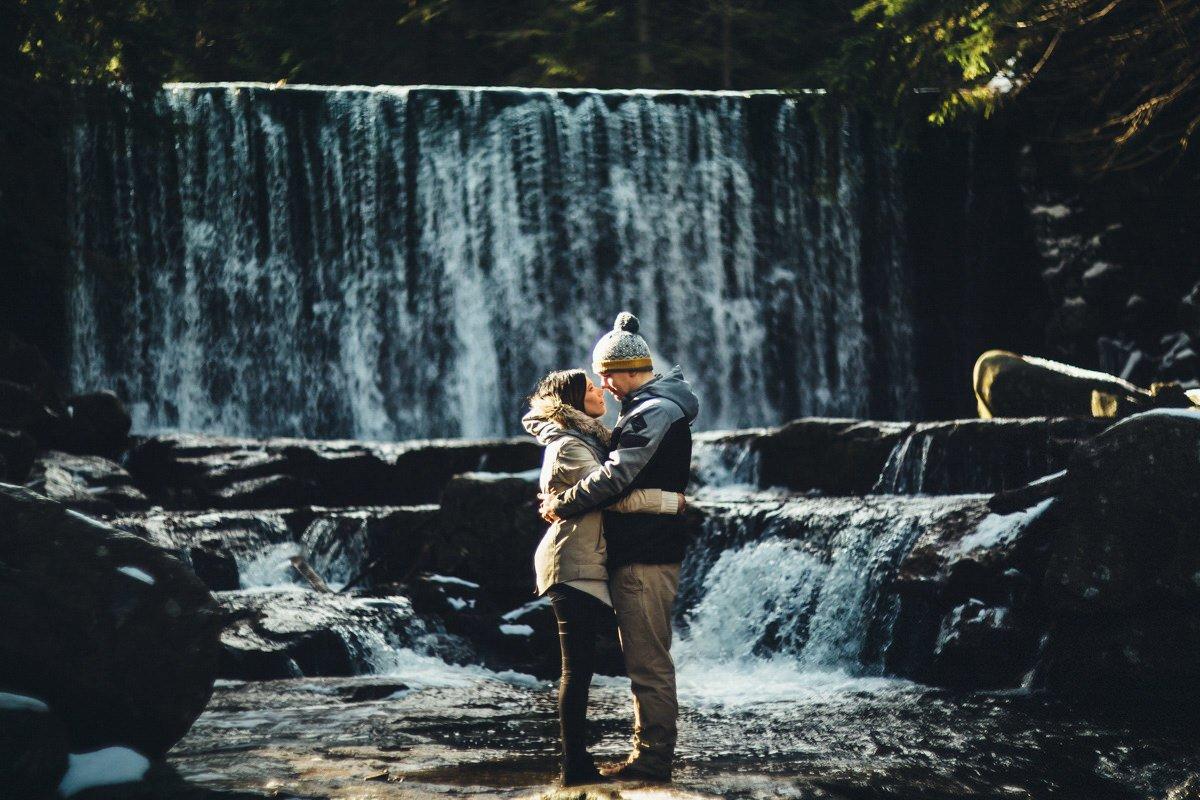 dziki wodospad karpacz