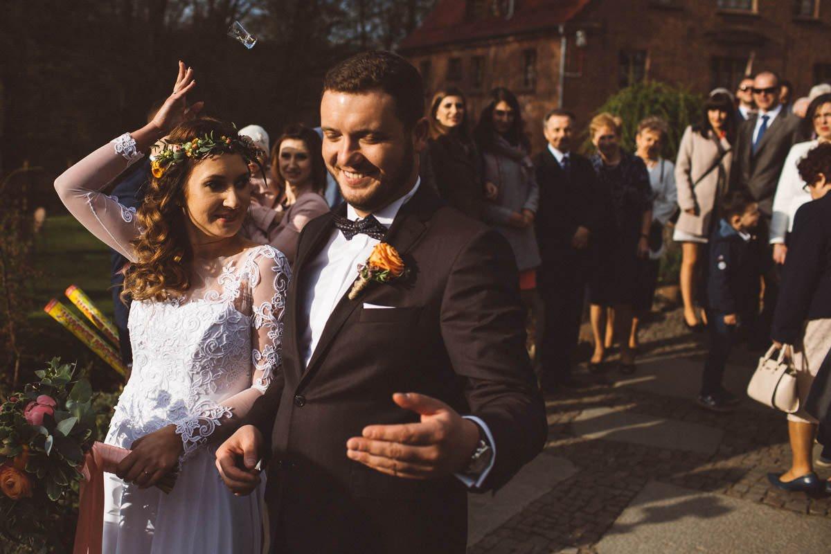 ślub w młynie nad regą