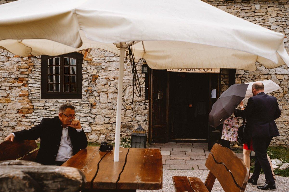 ślub na zamku w sobkowie