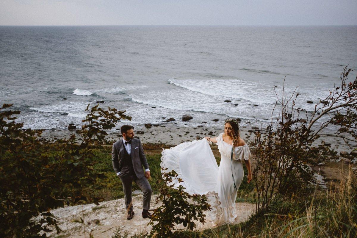 plener ślubny w na rugii