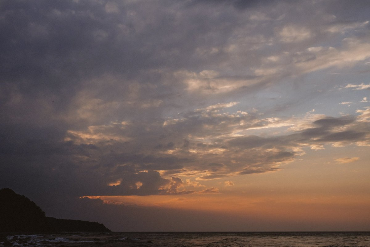 sesja nad morzem