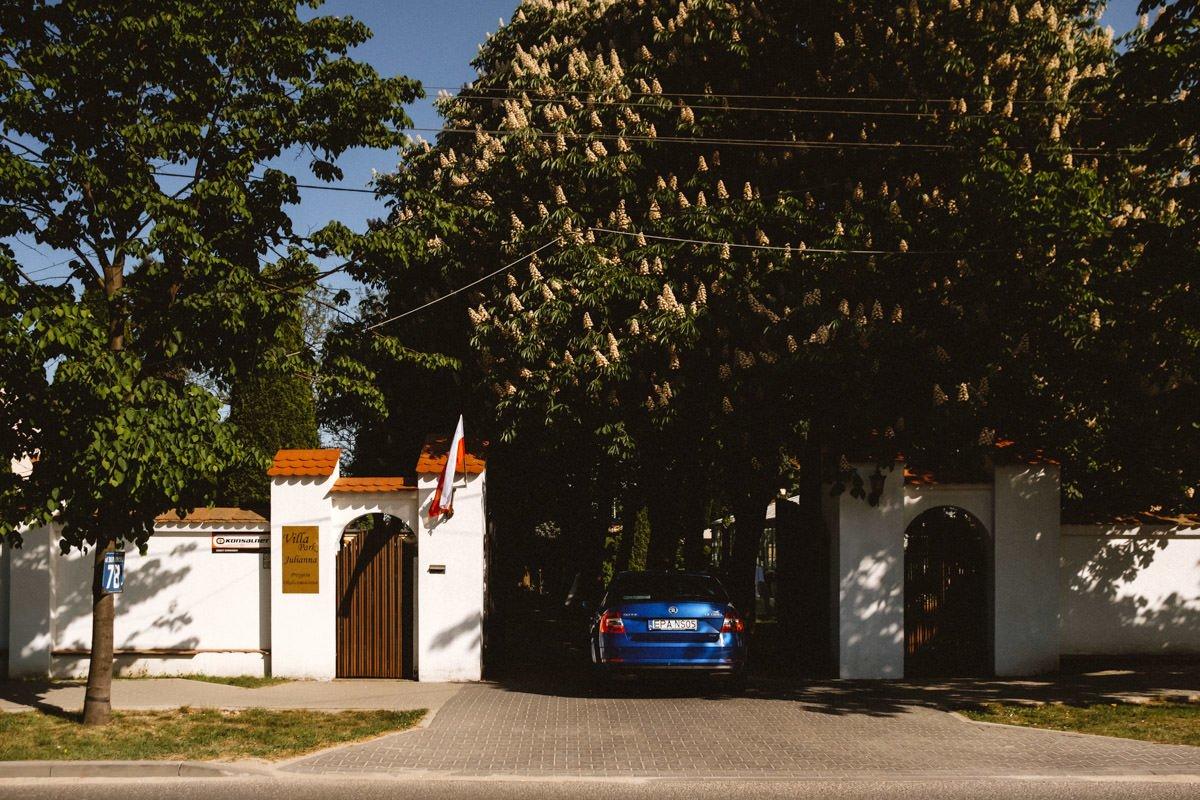 przygotowania w villa julianna