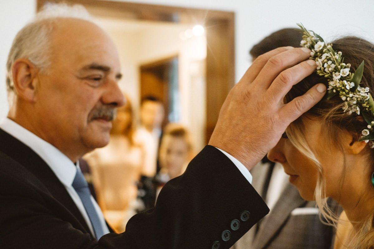 ślub w stylu ludowym