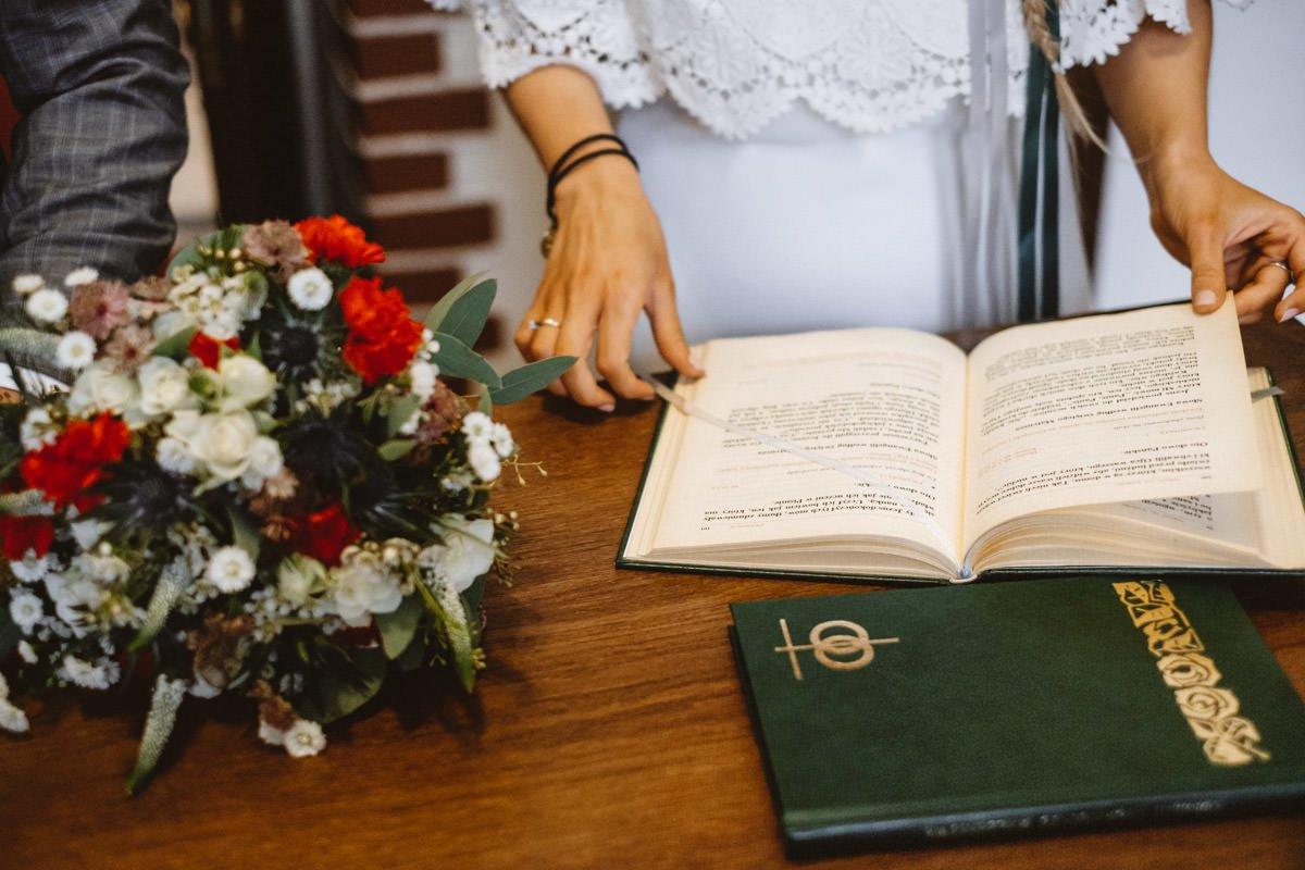 wesele w stylu folk
