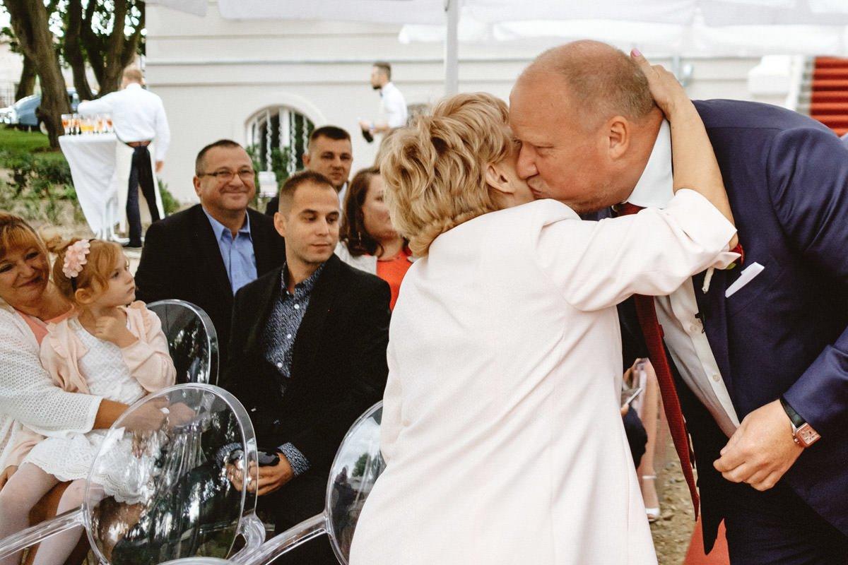 ceremonia w pałacu rajkowo
