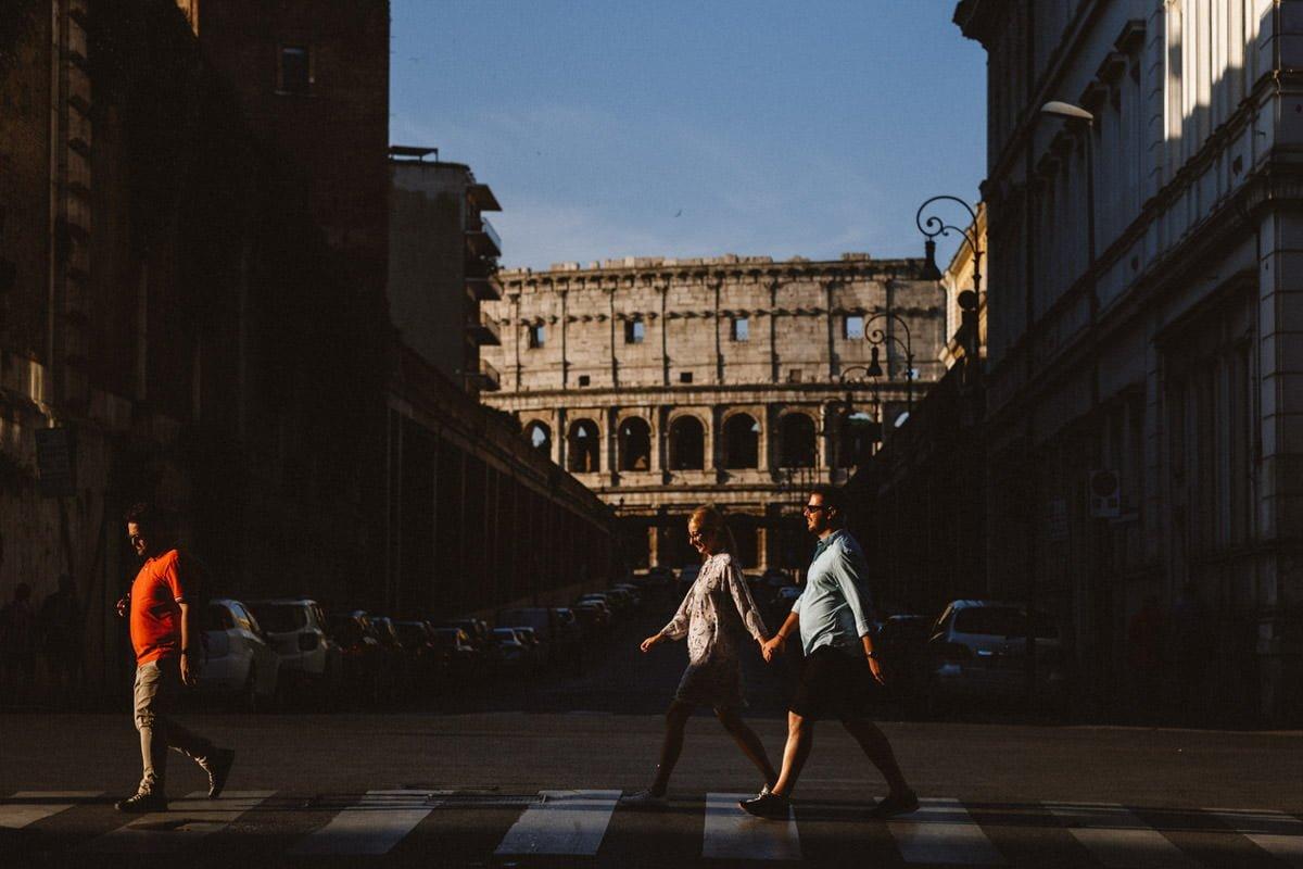 sesja narzeczeńska rzym