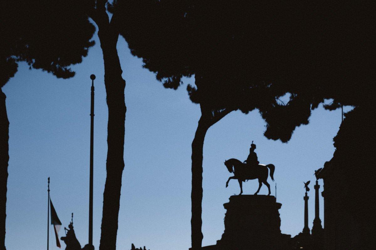 sesja narzeczeńska w rzymie