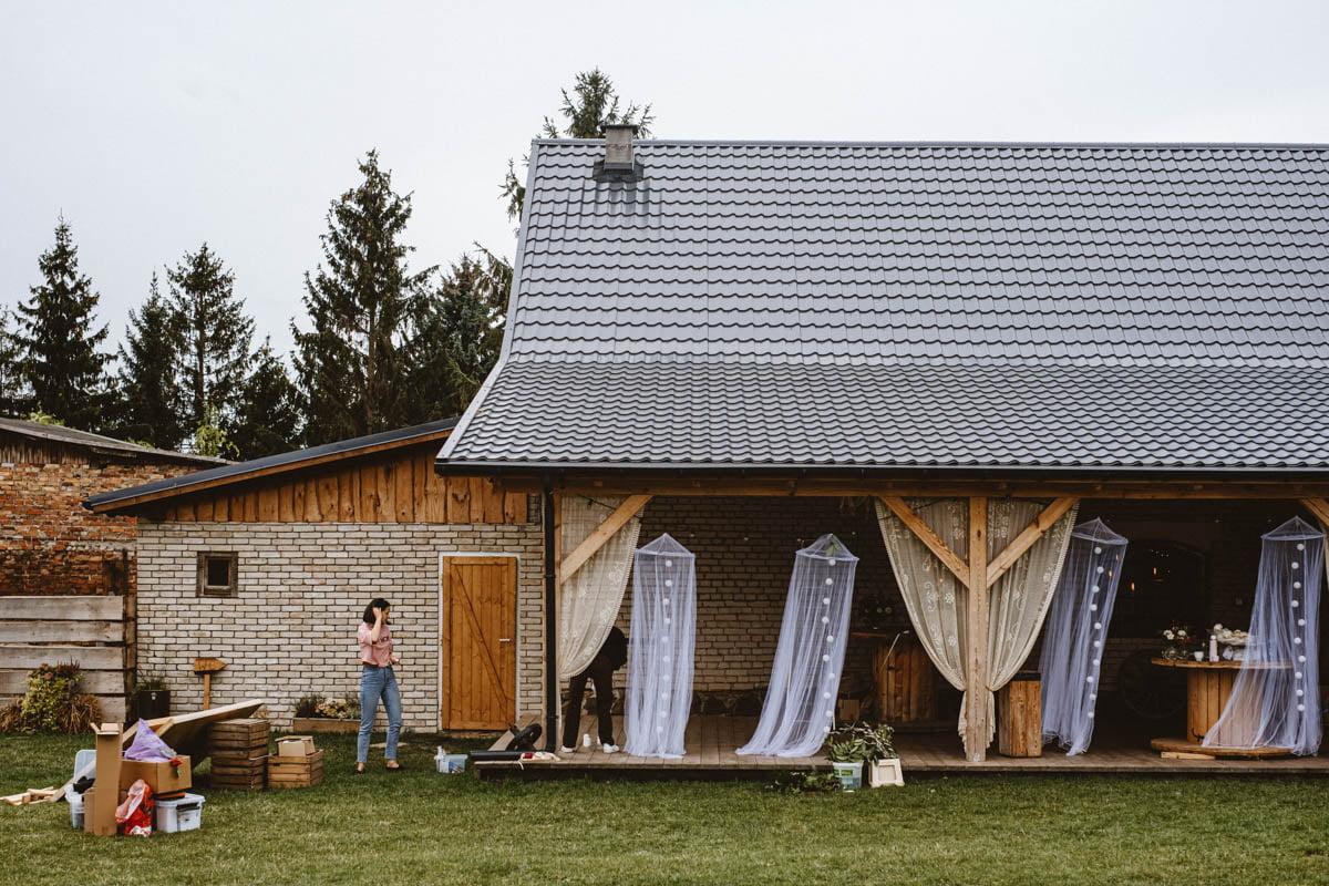 wesele w stylu rustykalnym